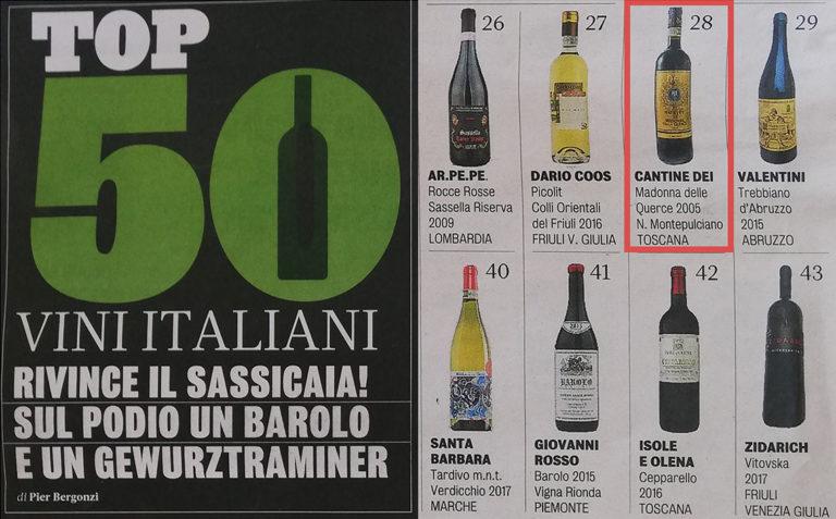 BIWA: TOP 50 VINI ITALIANI